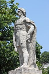 Statue of Gyorgy Dozsa in Budapest, Hungary