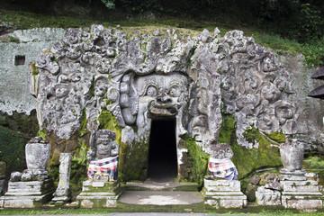 Elephant Cave, Goa Gajah Temple Bali Indonesia