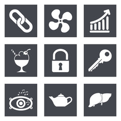 Icons for Web Design set 20