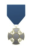 realistic 3d render of medal