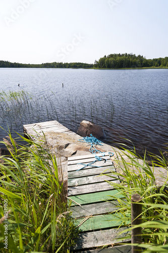 Lake Asnen in Sweden