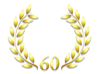 Lauriers anniversaire 60