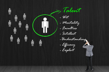 HR Choosing the talented person