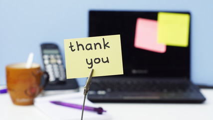 Thank you at the office