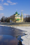 Transfiguration Cathedral in Uglich on  Volga River