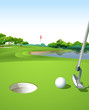 A clean and green golf course - 62521068