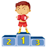 A boxing champion