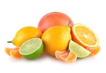 colorful citruses