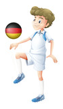 A football player from Germany