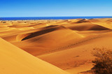 Natural Reserve of Dunes of Maspalomas, in Gran Canaria, Spain