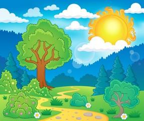 Spring theme landscape 5