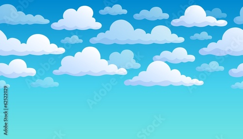 Cloudy sky background 7 - 62522029