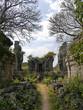 Path through ruines, Phnom Bok Temple, Angkor Wat, Cambodiaa