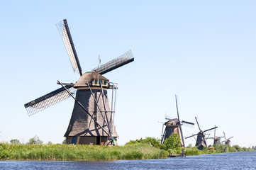 Kinderdyk windmills Holland