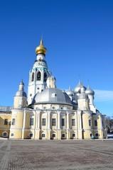 Воскресенский храм в Вологде на Соборной площади, Россия