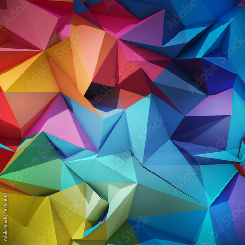 mata magnetyczna Abstrakcyjne geometryczne tle