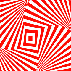 Red-and-white abstract background