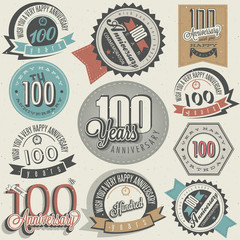 Vintage style One Hundred anniversary collection.
