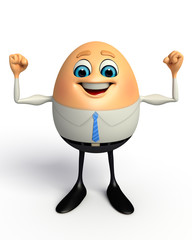 Happy Egg as Business Man