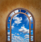 Open door to the sky