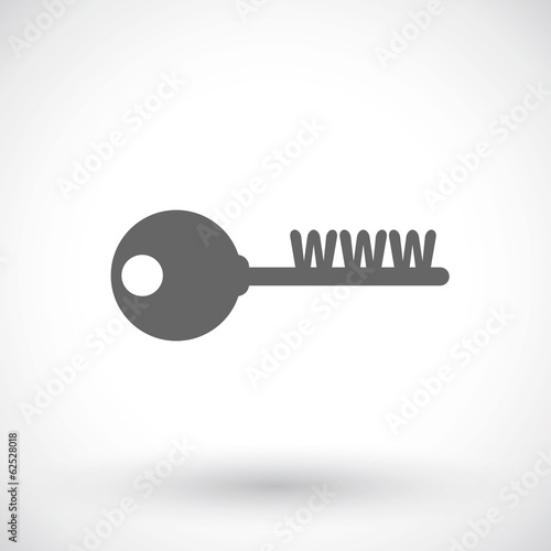 Web key icon, Turnkey website