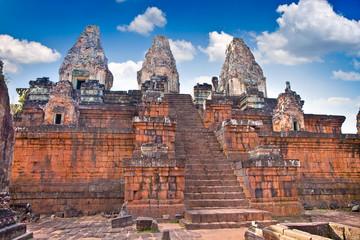 Prasat Pre Roup temple , Cambodia.