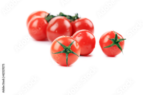 Composition of tomatoes cherry.