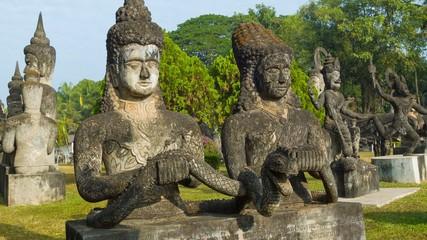 Sculpture Buddha Park (Xieng Khuan). Laos, Vientiane