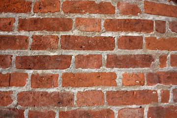 Old brick wall. Background