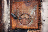 Old stove door