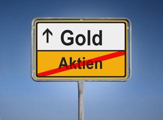Gold / Aktien