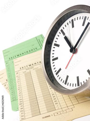 Leinwandbild Motiv Arbeitszeit