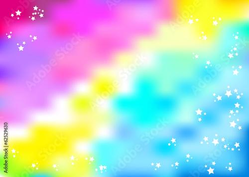 Stars pink-blue colorspot background