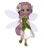 Cute Floral Fairy - 62531427