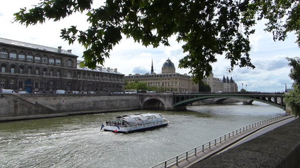 River Seine Cruise In Paris