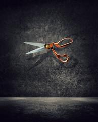 dramatic scissors