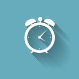 Modern Flat Time Management Vector Icon for Web and Mobile Appli