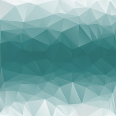 polygon turquoise background