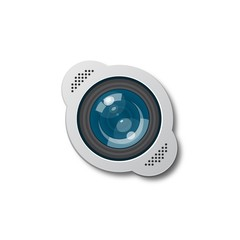 The camera lens icon