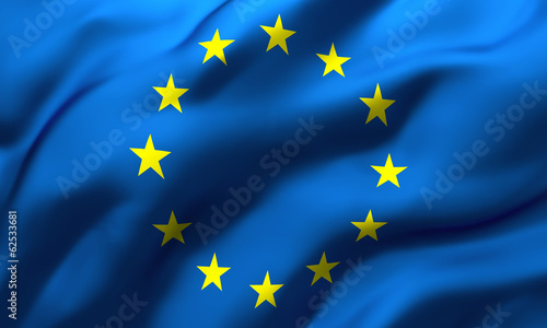 canvas print picture flag of Europe