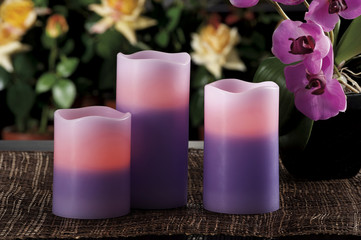 electric candles looks like normal candles