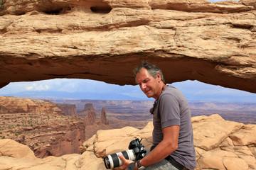 photographe à Canyonlands