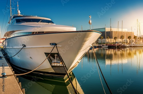 canvas print picture Yacht de luxe.