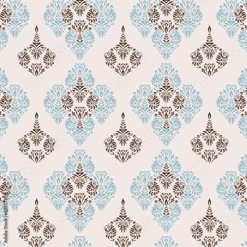 Damask pattern - 62537854