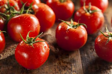 Organic Red Ripe Tomatoes
