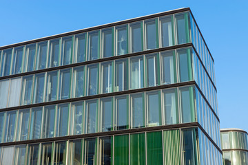 Modern green office building