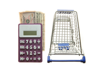 Shopping cart calculator and American Dollars