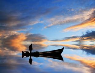 pescando nubes de colores
