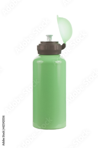 Green bottle for water