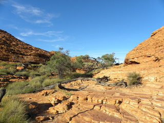 Kings Canyon Outback Australia